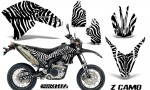 Yamaha WR250X R Graphics Kit ZCamo White NP Rims 150x90 - Yamaha WR250 R-X 2007-2019 Graphics