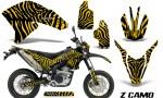 Yamaha WR250X R Graphics Kit ZCamo Yellow NP Rims 150x90 - Yamaha WR250 R-X 2007-2019 Graphics