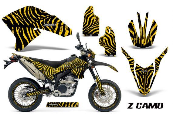 Yamaha WR250X R Graphics Kit ZCamo Yellow NP Rims 570x376 - Yamaha WR250 R-X 2007-2016 Graphics