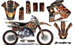 Yamaha WR250z 91 93 AMR Graphics Kit Decal Firestorm K NPs 150x90 - Yamaha WR250z 1991-1993 Graphics