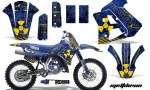 Yamaha WR250z 91 93 AMR Graphics Kit Decal Meltdown U Y NPs 150x90 - Yamaha WR250z 1991-1993 Graphics