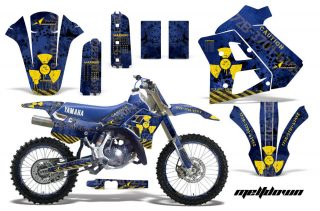 Yamaha WR250z Graphics 1991-1993