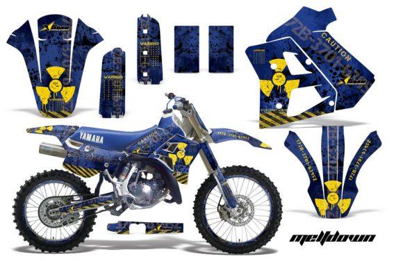Yamaha WR250z 91 93 AMR Graphics Kit Decal Meltdown U Y NPs 570x376 - Yamaha WR250z 1991-1993 Graphics