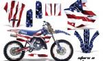 Yamaha WR250z 91 93 AMR Graphics Kit Decal StarsNStripes NPs 150x90 - Yamaha WR250z 1991-1993 Graphics
