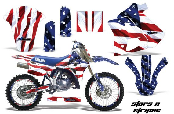 Yamaha WR250z 91 93 AMR Graphics Kit Decal StarsNStripes NPs 570x376 - Yamaha WR250z 1991-1993 Graphics