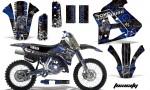 Yamaha WR250z 91 93 AMR Graphics Kit Decal Toxicity U K NPs 150x90 - Yamaha WR250z 1991-1993 Graphics