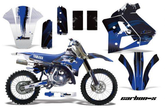 Yamaha WR250z 91 93 AMR Graphics Kit Decal carbon x U NPs 570x376 - Yamaha WR250z 1991-1993 Graphics