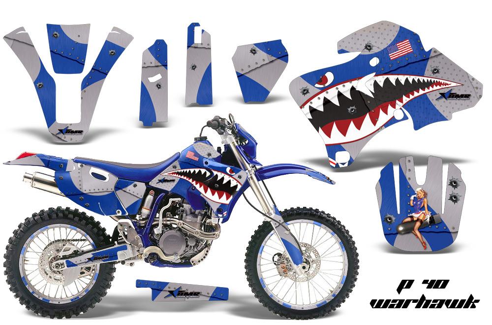 Yamaha wr426 amr graphics kit p40 bl nps