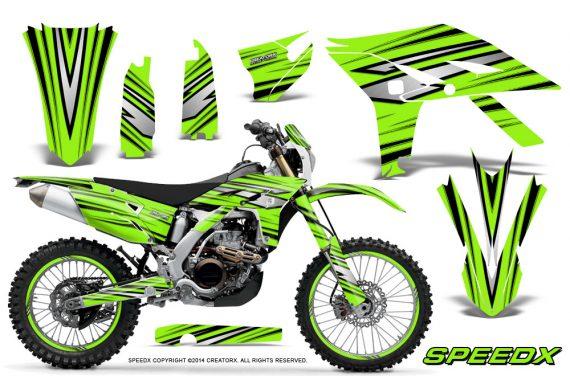 Yamaha WR450F 2012 2014 CreatorX Graphics Kit SpeedX Green NP Rims 570x376 - Yamaha WR450F 2012-2014 Graphics