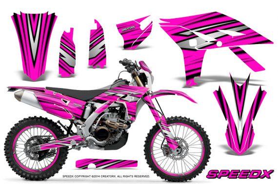 Yamaha WR450F 2012 2014 CreatorX Graphics Kit SpeedX Pink NP Rims 570x376 - Yamaha WR450F 2012-2014 Graphics