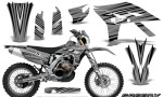 Yamaha WR450F 2012 2014 CreatorX Graphics Kit SpeedX Silver NP Rims 150x90 - Yamaha WR450F 2012-2014 Graphics
