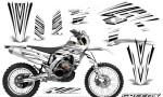 Yamaha WR450F 2012 2014 CreatorX Graphics Kit SpeedX White NP Rims 150x90 - Yamaha WR450F 2012-2014 Graphics
