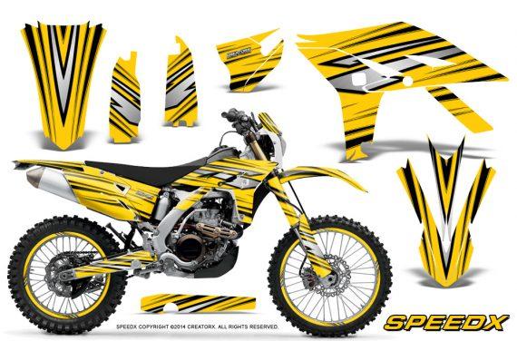 Yamaha WR450F 2012 2014 CreatorX Graphics Kit SpeedX Yellow NP Rims 570x376 - Yamaha WR450F 2012-2014 Graphics