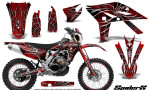 Yamaha WR450F 2012 2014 CreatorX Graphics Kit SpiderX Red NP Rims 150x90 - Yamaha WR450F 2012-2014 Graphics