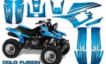 Yamaha Warrior 350 CreatorX Graphics Kit Cold Fusion BlueIce 150x90 - Yamaha Warrior 350 Graphics