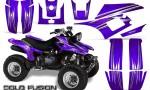 Yamaha Warrior 350 CreatorX Graphics Kit Cold Fusion Purple 150x90 - Yamaha Warrior 350 Graphics