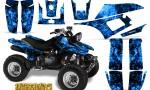 Yamaha Warrior 350 CreatorX Graphics Kit Inferno Blue 150x90 - Yamaha Warrior 350 Graphics