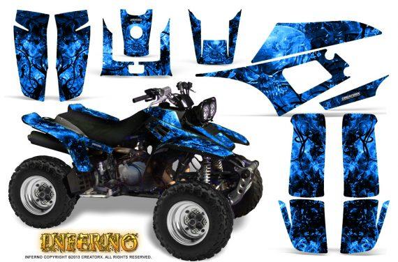 Yamaha Warrior 350 CreatorX Graphics Kit Inferno Blue 570x376 - Yamaha Warrior 350 Graphics