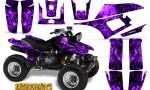 Yamaha Warrior 350 CreatorX Graphics Kit Inferno Purple 150x90 - Yamaha Warrior 350 Graphics