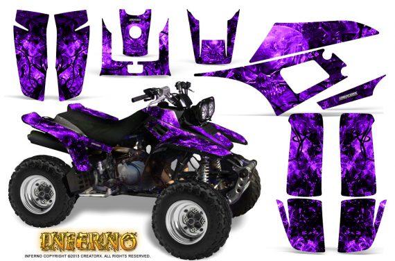 Yamaha Warrior 350 CreatorX Graphics Kit Inferno Purple 570x376 - Yamaha Warrior 350 Graphics
