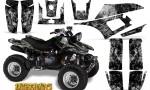 Yamaha Warrior 350 CreatorX Graphics Kit Inferno Silver 150x90 - Yamaha Warrior 350 Graphics