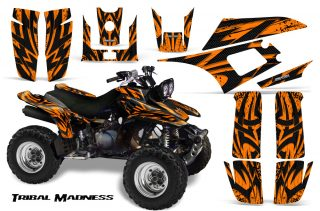 Yamaha-Warrior-350-CreatorX-Graphics-Kit-Tribal-Madness-Orange