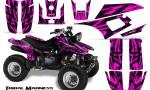Yamaha Warrior 350 CreatorX Graphics Kit Tribal Madness Pink 150x90 - Yamaha Warrior 350 Graphics