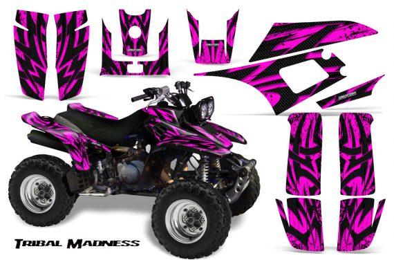 Yamaha Warrior 350 CreatorX Graphics Kit Tribal Madness Pink 570x376 - Yamaha Warrior 350 Graphics