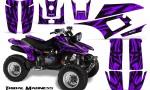 Yamaha Warrior 350 CreatorX Graphics Kit Tribal Madness Purple 150x90 - Yamaha Warrior 350 Graphics