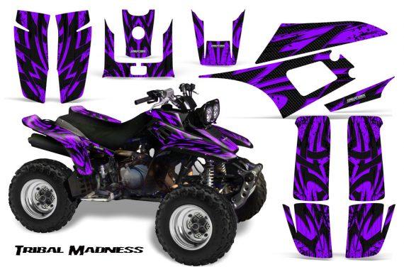 Yamaha Warrior 350 CreatorX Graphics Kit Tribal Madness Purple 570x376 - Yamaha Warrior 350 Graphics