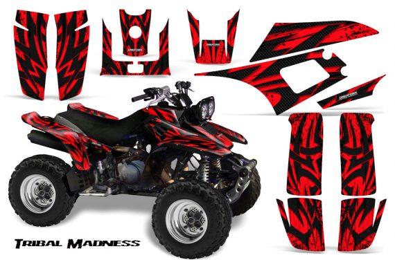 Yamaha Warrior 350 CreatorX Graphics Kit Tribal Madness Red 570x376 - Yamaha Warrior 350 Graphics