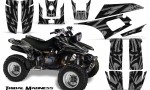 Yamaha Warrior 350 CreatorX Graphics Kit Tribal Madness Silver 150x90 - Yamaha Warrior 350 Graphics