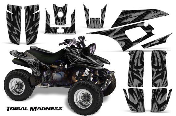 Yamaha Warrior 350 CreatorX Graphics Kit Tribal Madness Silver 570x376 - Yamaha Warrior 350 Graphics