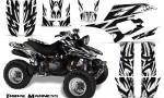 Yamaha Warrior 350 CreatorX Graphics Kit Tribal Madness White 150x90 - Yamaha Warrior 350 Graphics