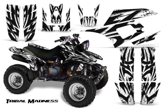 Yamaha Warrior 350 CreatorX Graphics Kit Tribal Madness White 570x376 - Yamaha Warrior 350 Graphics