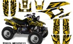Yamaha Warrior 350 CreatorX Graphics Kit Tribal Madness Yellow 150x90 - Yamaha Warrior 350 Graphics