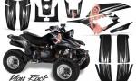Yamaha Warrior 350 CreatorX Graphics Kit You Rock Black 150x90 - Yamaha Warrior 350 Graphics