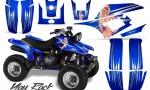 Yamaha Warrior 350 CreatorX Graphics Kit You Rock Blue 150x90 - Yamaha Warrior 350 Graphics