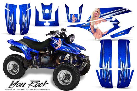 Yamaha Warrior 350 CreatorX Graphics Kit You Rock Blue 570x376 - Yamaha Warrior 350 Graphics