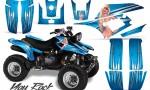 Yamaha Warrior 350 CreatorX Graphics Kit You Rock BlueIce 150x90 - Yamaha Warrior 350 Graphics
