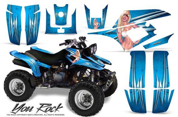 Yamaha Warrior 350 CreatorX Graphics Kit You Rock BlueIce 570x376 - Yamaha Warrior 350 Graphics