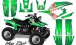 Yamaha Warrior 350 CreatorX Graphics Kit You Rock Green 150x90 - Yamaha Warrior 350 Graphics