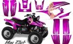 Yamaha Warrior 350 CreatorX Graphics Kit You Rock Pink 150x90 - Yamaha Warrior 350 Graphics