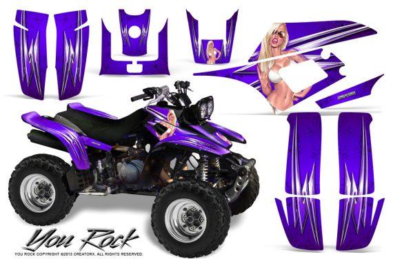 Yamaha Warrior 350 CreatorX Graphics Kit You Rock Purple 570x376 - Yamaha Warrior 350 Graphics