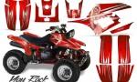 Yamaha Warrior 350 CreatorX Graphics Kit You Rock Red 150x90 - Yamaha Warrior 350 Graphics