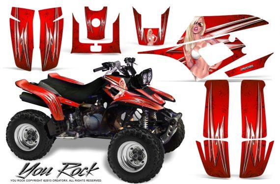 Yamaha Warrior 350 CreatorX Graphics Kit You Rock Red BB 570x376 - Yamaha Warrior 350 Graphics