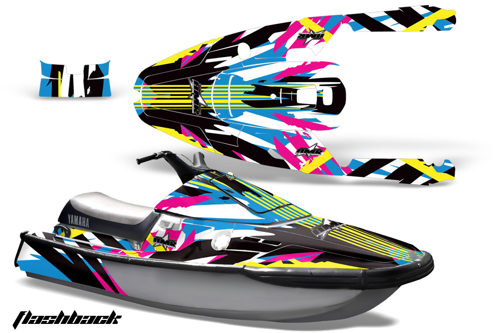Yamaha Wave Runner 3 Jet Ski 1991-1996 Graphics