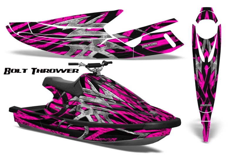 Yamaha-WaveBlaster-93-96-CreatorX-Graphics-Kit-Bolt-Thrower-Pink