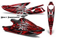 Yamaha-WaveBlaster-93-96-CreatorX-Graphics-Kit-Bolt-Thrower-Red