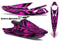 Yamaha-WaveBlaster-93-96-CreatorX-Graphics-Kit-Tribal-Madness-Pink